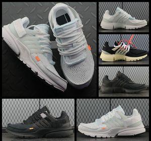 2018 Nuevo presto 2.0 Hombres Zapatillas de correr Triple Blanco Negro Prestos Moda para hombre Zapatillas de deporte Zapatillas de diseñador de la marca Zapatos Zapatos deportivos 40-45
