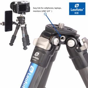 Treppiede compatto compatto mini da tavolino della macchina fotografica della fibra di carbonio LS-223C per le macchine fotografiche di Nikon DSLR di Canon Canon