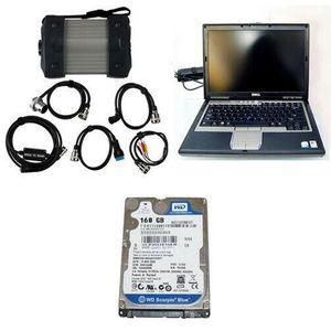 2015.07 версия Top-Red-Rate Professional MB Tester MB C3 STAR M-ERCEDES B-ENZ Диагностика Мультиплексор с ноутбуком D630 Бесплатная доставка