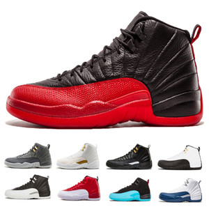 12 12s mens scarpe da basket Flu Game International Flight Gym Red playoff College Navy Bulls il maestro Wolf Grey Sport sneakers