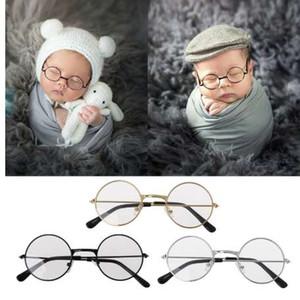 Bebés recién nacidos Apoyos de la fotografía Gafas planas Estudio para bebés Disparos Photo Prop Photo Accessories-M20