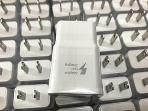 Caricabatteria USB da parete per caricabatterie da casa USB / USA Adattatore per Galaxy S6 S7 Edge S8 S8 Plus senza confezione