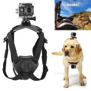 Git Pro Fetch Köpek Dağı Köpek Harness Göğüs Kemeri Dağı Gopro Hero 5 4 oturumu 3 + 3 SJ5000 Köpek göğüs kayışı kamera Aksesuarları