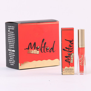 Trop f @ ced a fondu mate liquide lèvres violet rouge un lèvre 16 couleurs lèvre gloss lipgloss maquillage