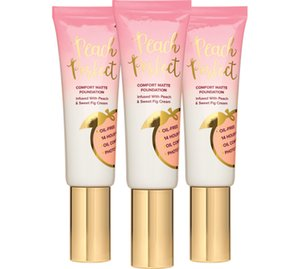 peach perfect comfort matte foundation 3colors infused with peach and sweet fig cream 48ml