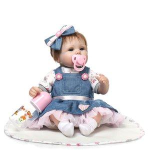 Dernière nouvelle 43 cm Silicone Reborn Boneca Realista Mode Bébé Poupées Pour Princesse Enfants Cadeau D'anniversaire Bebes Reborn Poupées