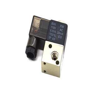 """3v1-06 ac110v 5.5 VA 29MA 2-позиционный 3-позиционный пневматический электромагнитный электромагнитный клапан G1 / 8"""""""