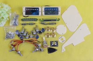 Unfinished DIY Electric Guitar Kit Guitar hardware Pickup Bridge Tailpiece