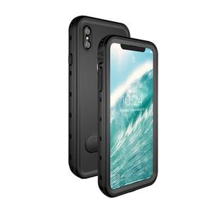 Su geçirmez Kılıf Apple iPhone Xs Max 6.5 inç IP68 6.6 ayak Sualtı 2 M Dalış Spor Darbeye 2 M KickStand ile