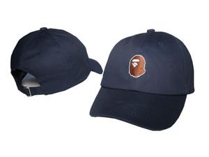 Estilo 2020 NUEVO caliente APE Cap bordado Hombre Primavera Pato Cap Mujer Versión Coreana gorra de béisbol al aire libre del sombrero de Sun