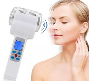 Cryothérapie par ultrasons Hot Cold Hammer lymphatique Lifting Massager Ultrasons Cryothérapie Facial Corps Beauté Salon Équipement