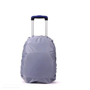 Vide trolley sac d'école sac à dos sac housse imperméable à l'eau filles garçons roue enfants trave sac antipoussière preuve seulement couvercle 2pcs