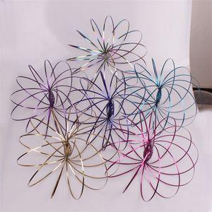 Toro Flowtoy Fluxus Amazing Flow bunten Ring Spielzeug Kinetic Spring Toy Funny Outdoor Spiel Intelligente Spielzeug Zappeln Spinner