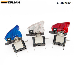 Tansky Yarış Anahtarı Kiti Araba Elektroniği / Anahtar Panelleri-Flip-up Başlat / Ateşleme / Aksesuar Için Evrensel Stokta Var TK-RSK3001