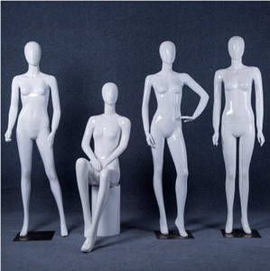 High Quality New Style Manikin Full Body Female Mannequin Gloss White Mannequin Professional Manufacturer In China