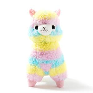 35см 50см Радуга Альпака плюша овец игрушки японский Мягкие плюшевые Alpacasso плюша младенца чучела животных Альпака Подарки LA025
