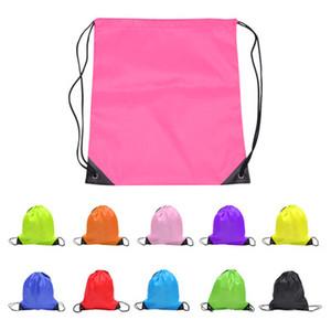 нарисуйте струнные сумки детская одежда обувь мешок школа шнурок замороженные спорт зал PE танец рюкзаки нейлон рюкзак полиэстер шнурка мешок