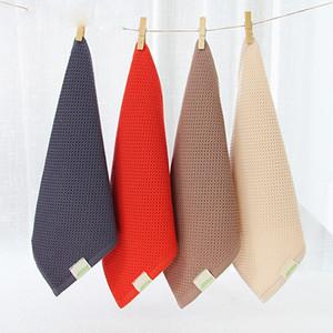 Mode aus 100% Baumwolle Handtuch 34 * 34cm Wischen von Hand spülen Gesicht Handtuch Trocknen Auto Reinigung Waschen sauberes Tuch Hand
