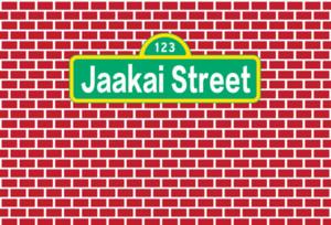 Kırmızı Tuğla Susam Sokak Birhtday Fotoğraf Stüdyosu Backdrop Arka Plan özelleştirmek