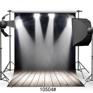 etapa de telón de fondo negro proyector de pantalla fondos de piso de madera para estudio de fotografía profesional de la fotografía accesorios de vinilo 3D
