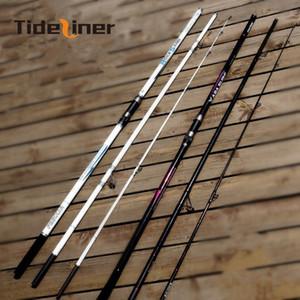 Tideliner 4.2м спиннинг SURF удочку рок Расстояние Бросив прибой литья углеродного волокна удочки полюса Приманка Вес 80-200g