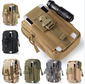 New Universal Outdoor Tactical Holster Military Molle Belt Bag Wallet Pouch Phone Case for Iphone 7 6 6S Plus Samsung Note 7 5 S7 LG