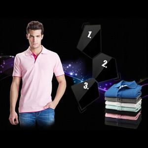 Polo da uomo di marca per uomo Designer Polo estate autunno uomo cotone manica corta camicia marche maglie Golftennis vendita calda