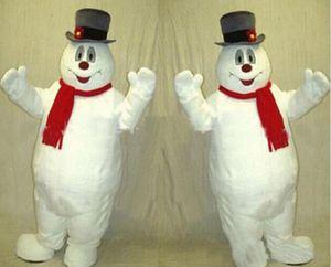 2017 sıcak satış Sıcak satış MASCOT ŞEHIR Soğuk Kardan Adam MASKOT kostüm anime kitleri maskot tema fantezi elbise karnaval kostüm
