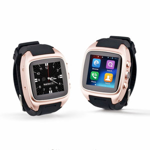 Lo nuevo X01S HD Cámara Quad Core Smartwatch 3G SIM Card Android 5.1 WIFI Bluetooth Internet GPS a prueba de agua Reloj inteligente 5pcs / lot