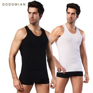 2 Stück Herren Baumwolle Tank Top schlanke Kleidung Mens Sleeveless O-Neck Shirt Casual Westen Singuletts Muscle Tops Großhandel Unterhemd
