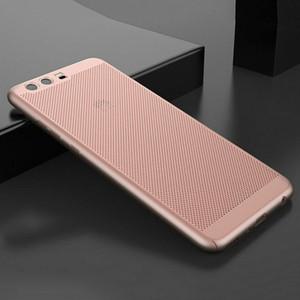 Huawei P20 için Isı Dağılımı Durumda Izgara PC Cep Telefonu Koruyucu Kapak için Huawei P10 lite P20 Artı Mate 9 10 Arka Kapak