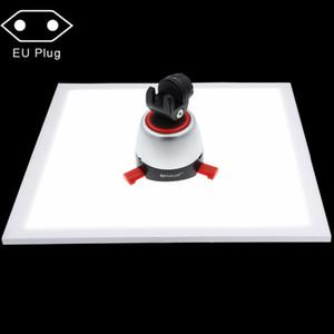 PULUZ 1200LM LED Fotografia Shadowless Luce inferiore del pannello della lampada per 40 cm Foto Studio Shooting Tent Box No Luce attenuazione del polare 2018 nuovo
