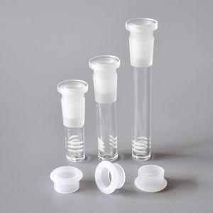 Glas Downstem mit 6 Schnitten 18.8mm downstem in eine 14 mm Schale 3 cm / 5 cm / 8cm Glasfuß unten Diffusor / Reduzierstück für den Großhandel