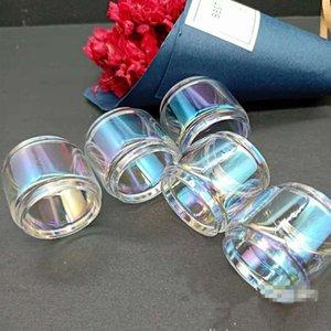 Couleur de l'arc-en-ciel pour tube de verre Bulle Pyrex pour réservoir TFV8 Pen 22 Vape Baby 22 TFV12