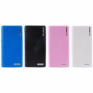 Dual USB Power Bank 6x 18650 carregador de bateria alternativo externo Box Capa Para Telefone