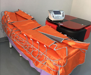 Il più nuovo dispositivo di pressoterapia Linfodrenaggio del grasso di drenaggio di rimozione della cellulite che dimagrisce macchina con infrarosso lontano