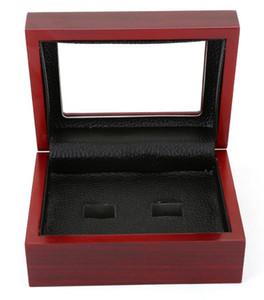 Новый Fine логово Box Championship Ring витрину деревянные коробки кольцо 2 3 4 5 6 отверстий на выбор кольца Box Шкатулки