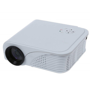 S320 Mini LCD Projector 1800 Lumens 800x600 HDMI USB VGA AV PC Theater Multimedia HD 1080P Video Player for Business and Home LED Projector