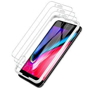 Tela de vidro temperado Protector Para Alcatel 1X Evolve MetroPCS Edição Film 2.5D 9H Anti-estilhaçamento da embalagem Papel A