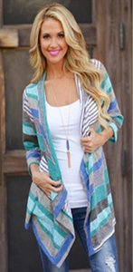 Boho Womens Long Sleeve Cardigan Outwear Knitted Jacket Coat Tops Loose Sweater Summer Spring Free Shipping