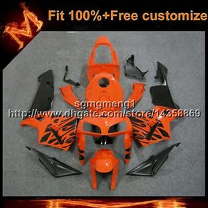 23 farben + 8 geschenke spritzguss orange motorradrumpf für honda viele lackierung cbr600rr 2005-2006 cbr 600 rr 05 06 abs verkleidung