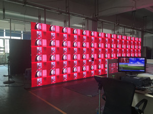 5.67ft * 7.56ft 12 PC 576 * 576 * 80 P6 pantalla LED de pantalla de vídeo LED de interior de arrendamiento