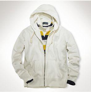 Ücretsiz kargo! 2018 Yeni Rahat Hoodie Erkekler 'S Sıcak Satış polo Hoodies ve Sweatshirt Dış Giyim% 100% pamuk küçük at erkek hoodies