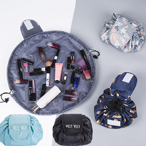Lazy Storage Bags Cosmetic Bag Drawstring Wash Bag Trucco Organizzatore di viaggio Viaggi Cosmetic Pouch Trucco Magia Organizzazione Bag HH7-403