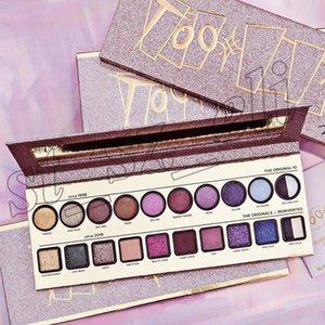 Frente a maquillaje Eyeshadow Plaette 20 colores pro sombra de ojos alrededor de 1998 a circa 2018 sombras paletes