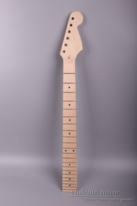 Electric guitar neck replacement 22 Fret 25.5 inch Maple Fretboard Locking nut