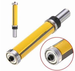 1pc Flush Trim Pattern Router Бит 1/2 '' Фрезерный режущий инструмент для нижнего подшипника для деревообрабатывающего инструмента