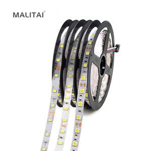 1Roll 5M 300 LED Strip Light 2835 3528 5630 5050 SMD 12V 60LEDs / M LED Lampada nastro Vacanze Stringa Per illuminazione da cucina Decorazioni per scale