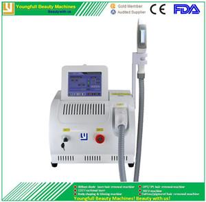 Vendita di fabbrica CE ECM LVD approvato prezzo di fabbrica professionale indolore permanente veloce SPA Salon ICE laser a diodi IPL macchina di depilazione OPT