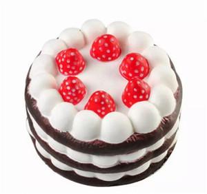 Squishy Cake Strawberry Perfume Cream Rosa Giallo Rosso Caffè blu Agitarsi Toy Jumbo Decor lento Squishies Rising Spedizione gratuita